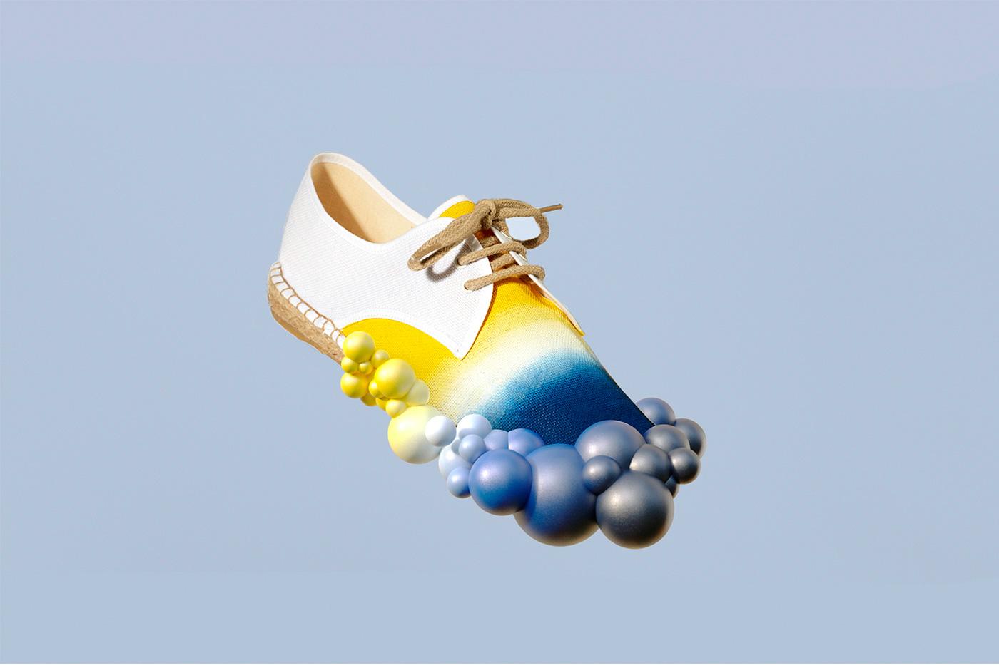 zapatillas de hombre con trio de colores